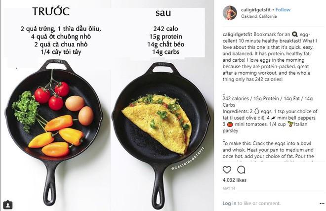 Nếu dùng mạng xã hội, bạn đừng bỏ qua thói quen ăn uống của Instagrammer nổi tiếng với hàng trăm ngàn người theo dõi này - Ảnh 1.