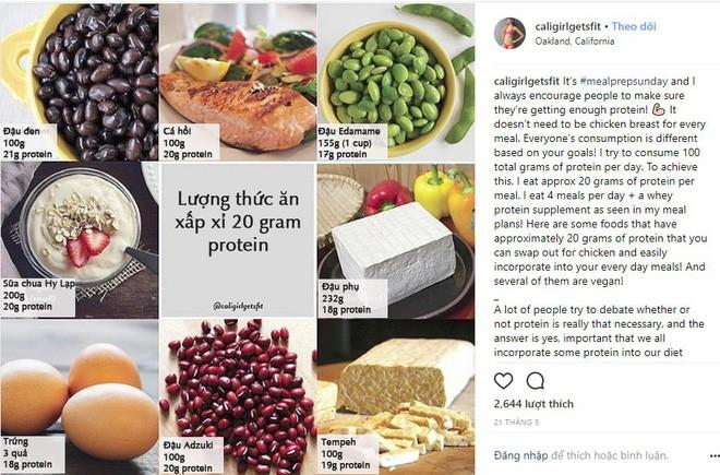 Nếu dùng mạng xã hội, bạn đừng bỏ qua thói quen ăn uống của Instagrammer nổi tiếng với hàng trăm ngàn người theo dõi này - Ảnh 7.