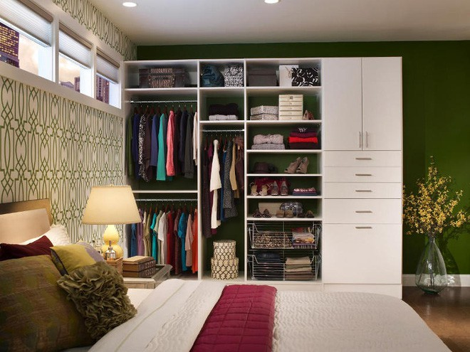 Không gian tưởng chừng như vô dụng dưới đây lại có thể trở thành tủ quần áo chỉ trong vài nốt nhạc - Ảnh 7.