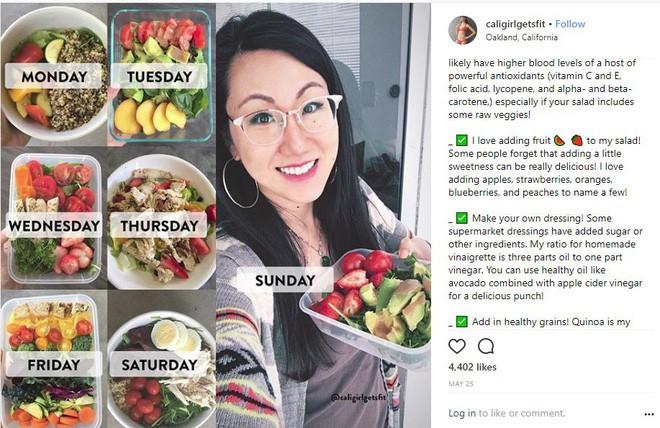 Nếu dùng mạng xã hội, bạn đừng bỏ qua thói quen ăn uống của Instagrammer nổi tiếng với hàng trăm ngàn người theo dõi này - Ảnh 8.