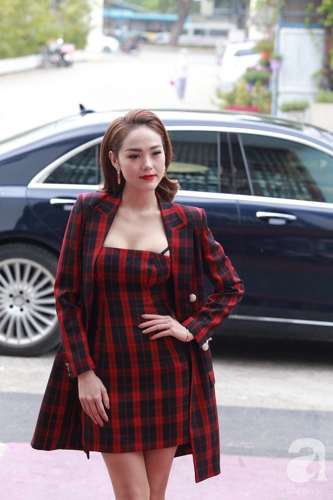 Minh Hằng ăn diện đã ổn hơn nhưng vẫn lép vế khi so vai Thanh Hằng, Võ Hoàng Yến trong buổi casting The Face Hà Nội - Ảnh 1.