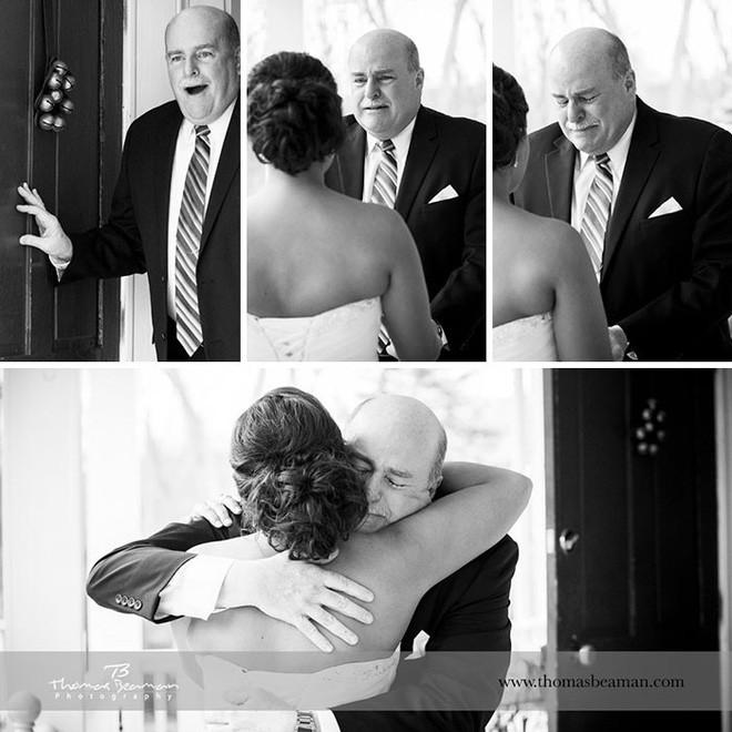 Chùm ảnh: Nhìn phản ứng của những người đàn ông này trong ngày con lên xe hoa mới thấy con gái quả thật là báu vật vô giá đối với bố - Ảnh 13.