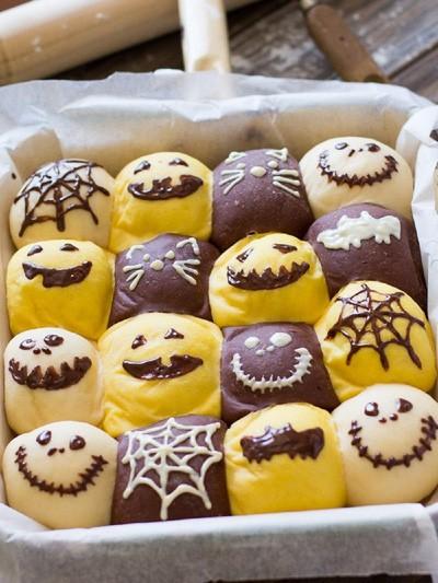 Chuẩn bị đón Halloween với món bánh mì siêu cute - Ảnh 21.