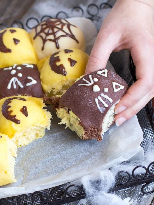 Chuẩn bị đón Halloween với món bánh mì siêu cute - Ảnh 23.