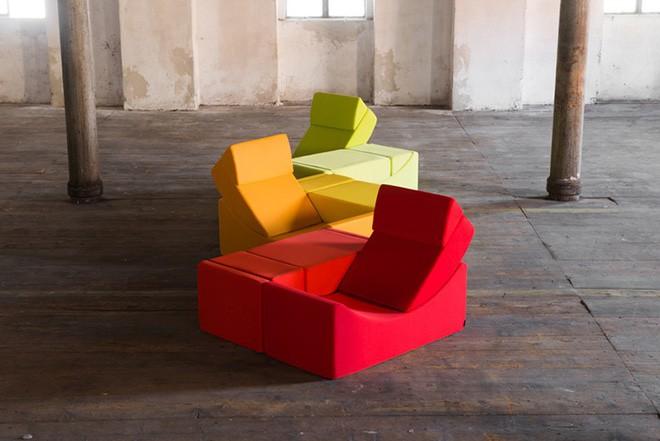 Nếu muốn làm mới nhà cửa liên tục, hãy sắm ngay ghế sofa xếp hình - Ảnh 5.