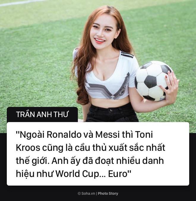 Hot girl Nóng cùng World Cup và câu nói bị bóc phốt trên sóng trực tiếp - Ảnh 6.