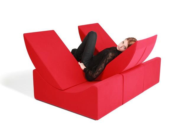 Nếu muốn làm mới nhà cửa liên tục, hãy sắm ngay ghế sofa xếp hình - Ảnh 8.