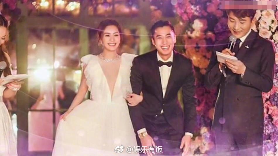Tròn 10 năm tủi hờn vì scandal ảnh sex, Chung Hân Đồng khóc như mưa trong hôn lễ đẹp như cổ tích của mình - Ảnh 4.